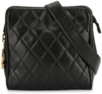 Chanel Pre Owned 1990s Diamond Quilted Belt Bag