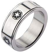 Star Wars Galactic Empire Symbol Spinner Stainless Steel Ring - 8