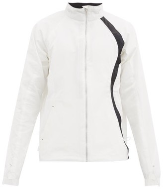Arnar Mar Jonsson - Walthem High-neck Technical-shell Jacket - White