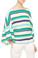 Sanctuary Women's Stripe Angel Sleeve Top