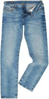 True Religion Men's Geno slim fit desert well light wash jeans