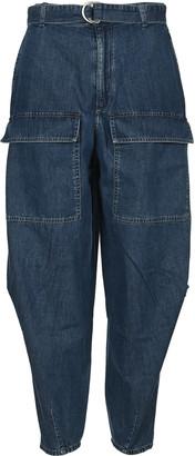 Stella McCartney Oversized High Waist Denim Pants