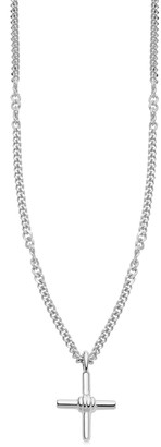 Missoma Lucy Williams Silver Cross Necklace