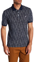 Original Penguin Short Sleeve Printed Slim Fit Polo