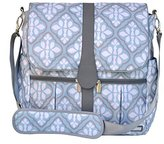 JJ Cole Backpack Diaper Bag, Blue Iris by