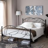 Baxton Studio Zinnia Chic Bronze Metallic Finish Metal Full Size Bed