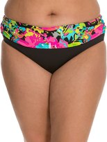 Kenneth Cole In Full Bloom Plus Size Sash Hipster Bottom 7539175