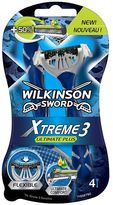 Wilkinson Sword Xtreme 3 Ultimate Plus 4 pack