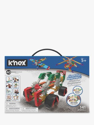 K'NEX 15210 Beginner 40 Model Building Set