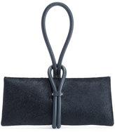 Tom Ford Tubo Zip Calf Hair Wristlet Bag