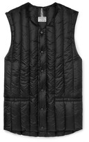 Rocky Mountain Featherbed Six Month Quilted Shell Down Gilet - Black