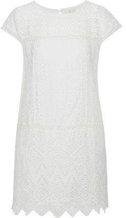 Joie Delayna Broderie Anglaise Cotton Mini Dress