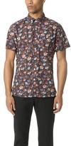 Todd Snyder Short Sleeve Floral Print Shirt