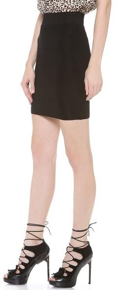 Torn By Ronny Kobo Celine Ottoman Skirt