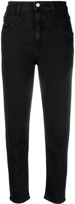 Calvin Klein Jeans Straight Leg Dark Wash Jeans