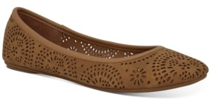 Sun + Stone Sophia Perforated Flats, Created for Macy's Women's Shoes
