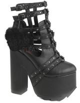 Demonia Women's Cramps 05 Ankle Boot