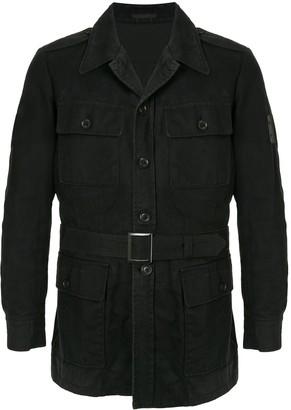 Yohji Yamamoto Pre Owned Belted Military Jacket