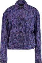 Just Cavalli Printed Denim Jacket