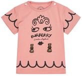 Burberry Lady Print T-Shirt