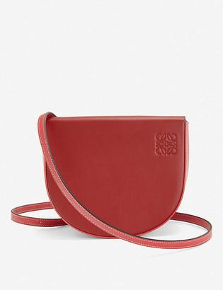 Loewe Heel leather cross-body bag