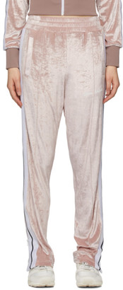 Palm Angels Pink Chenille Lounge Pants