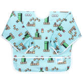 Bumkins Super Mario 8-Bit Game Sleeved Bib