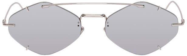 Christian Dior Silver and Grey DiorInclusion Sunglasses