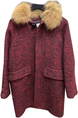 Stella Forest Pink Wool Coats