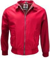 Mens Classic Harrington Tartan lined Jacket Coat Mod Retro by WWK / WorkWear King ( - )