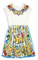 Dolce & Gabbana Toddler's, Little Girl's & Girl's Floral Printed Dress