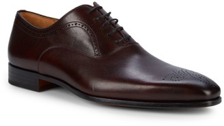 Magnanni Brogue Toe Leather Oxfords
