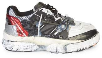 Maison Margiela Leather Fusion Low-Top Runners