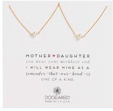 Dogeared Women's Mother Daughter Set Of 2 Pearl Pendant Necklaces