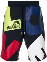 Love Moschino letter print shorts