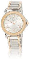 New York & Co. Round-Face Link Watch
