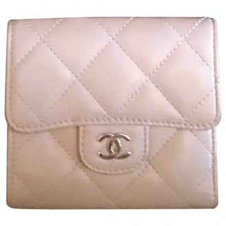 Chanel Timeless/Classique Anthracite Leather Wallets