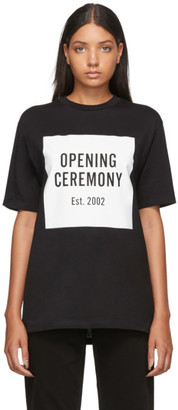Opening Ceremony Black Unisex Box Logo T-Shirt