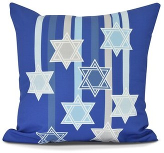The Holiday Aisle Shooting Stars Euro Pillow The Holiday Aisle Color: Royal Blue