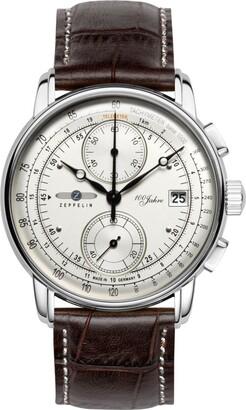 Zeppelin Men's Analogue Quartz Watch with Leather Strap 86701