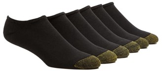 Gold Toe Cotton Cushion No Show Socks 6-Pack
