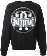 Moschino logo sweatshirt - men - Cotton - S