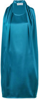 Gianluca Capannolo draped detail dress - women - Polyester/Triacetate - 40