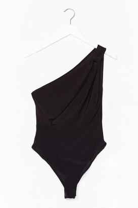 Nasty Gal Womens All One Board Slinky Bodysuit - Black - 10