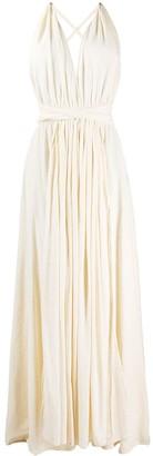 CARAVANA Hera v-neck dress