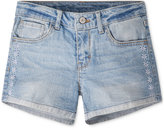 Levi's Embroidered Shorty Shorts, Little Girls (4-6X)