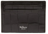 Mulberry Crocodile-effect Embossed-leather Cardholder