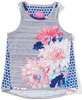 Joules Little Girls 3-6 Iris Posy Floral Tank Top
