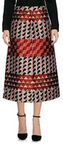 RED Valentino 3/4 length skirt