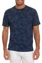 Robert Graham Rosemead Faded-Paisley T-Shirt, Blue